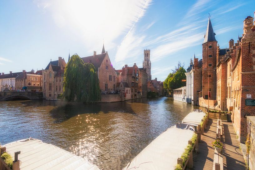 Rozenhoedkaai, Brugge van Martijn Mureau