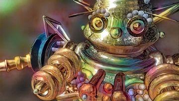 Friendly Robot 2 van Rein Bijlsma