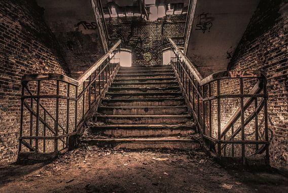 Trappenhal Fort de la Chartreuse van Joris Pannemans - Loris Photography