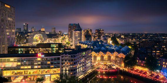 Rotterdamse Iconen Panorama van Vincent Fennis