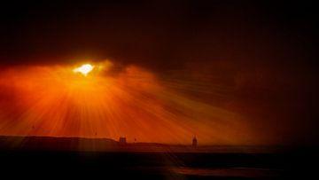 Stralende zon van Rop Oudkerk