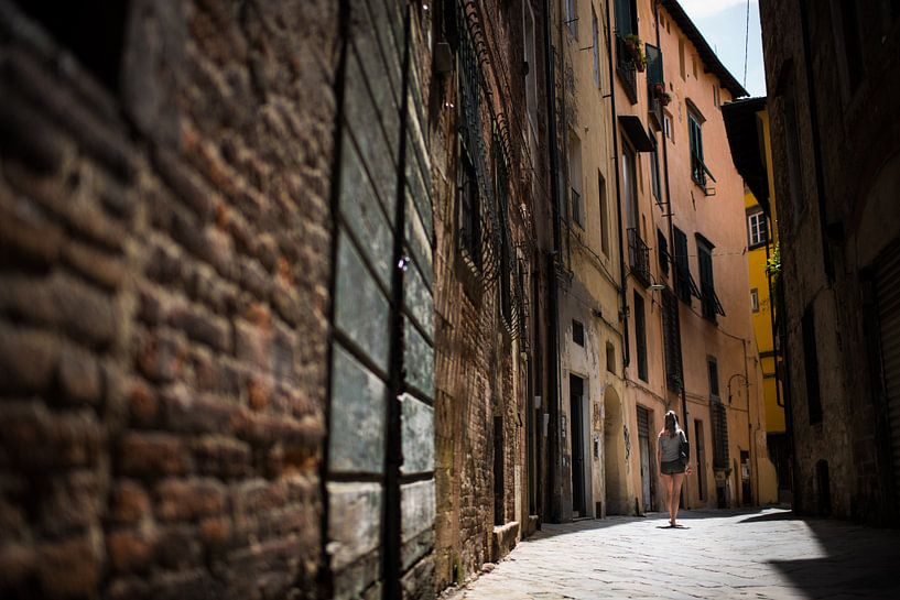 Lucca, italië van Mark Bonsink