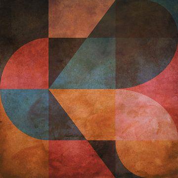 Abstracte samenstelling 1212 van Angel Estevez