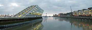 Hamburg Dockland Panorama von