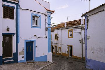 Straat in Arraiolos van Michiel Dros