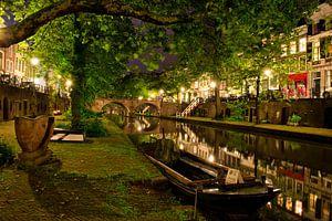 Utrecht Oudegracht: bij Geertebrug van