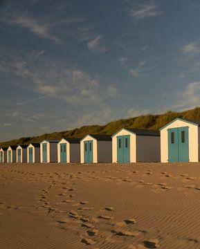 Strandhuisjes op Texel van my KOOL moments
