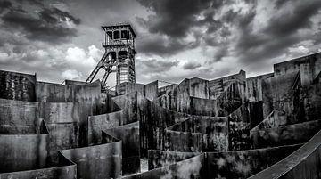 Toren C-mine Genk sur Martijn van Dellen