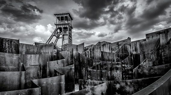 Toren C-mine Genk van Martijn van Dellen