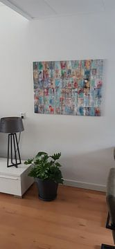 Klantfoto: Patchwork Painting van Atelier Paint-Ing