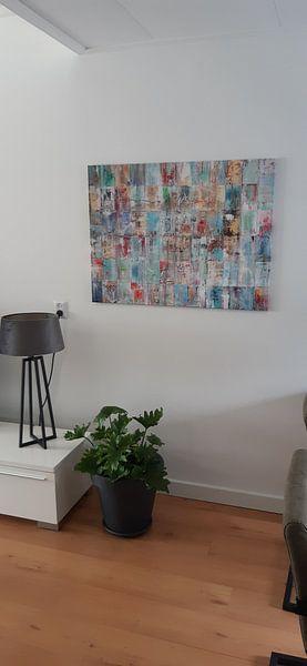 Kundenfoto: Patchwork Painting von Atelier Paint-Ing