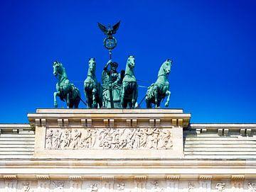 Brandenburgse Poort, Berlijn. 002. van George Ino