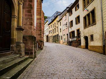 Luxemburgs straatje van Dianne Peeters
