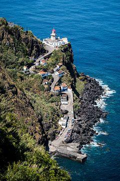 Een blik op de vuurtoren II | Een reis over Sao Miguel, de Azoren van Roos Maryne - Natuur fotografie