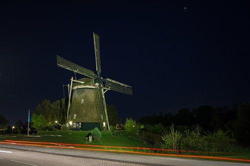 Nachtelijke molen