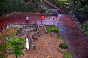Regen 1 van Edgar Schermaul