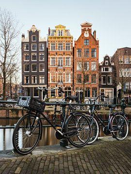 Maisons sur le Herengracht, Amsterdam sur Lorena Cirstea