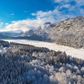 Sylvensteinspeicher im Winter von Einhorn Fotografie