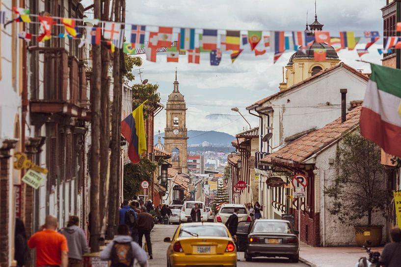 Koloniaal Bogotá van Ronne Vinkx
