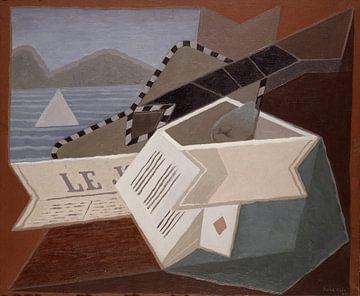 Juan Gris, Gitarre für das Meer - 1925 von Atelier Liesjes