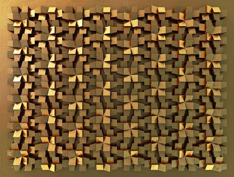 Relief J1 Brons van Frans Blok