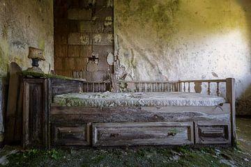 ein rundes Bett von Kristof Ven