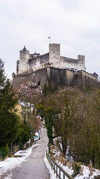 Schloss in Salzburg, Österreich von Jessica Lokker