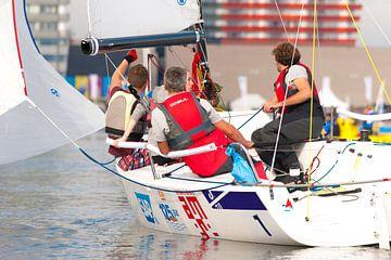 Zeilboot Actie van Brian Morgan