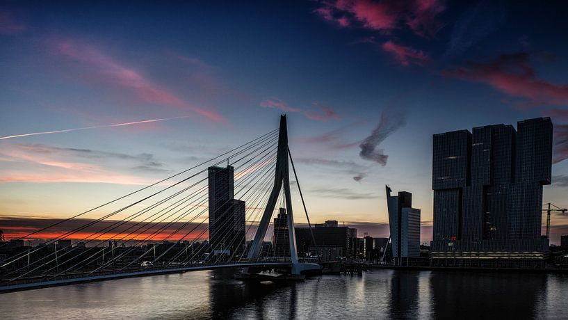 Rotterdam in the early morning van Lex Schulte