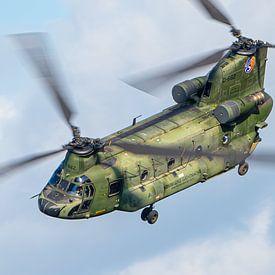 RNLAF Boeing CH-47D Chinook van Marc Hederik