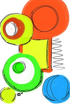 Kreise und Farben von Ina Fischer
