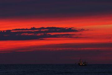 boot op zee von Dirk van Egmond