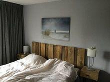 Klantfoto: Drenkelingenhuisje op het strand Terschelling van Sander Grefte