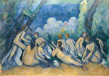 Badende (Les Grandes Baigneuses), Paul Cézanne
