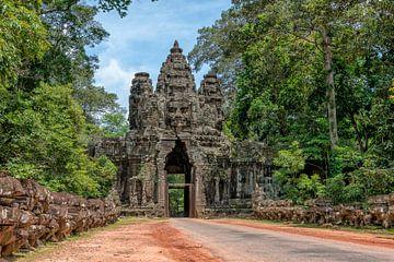 Angkor Thom poort van