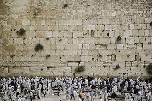 Klaagmuur / Westelijke Muur in Jeruzalem