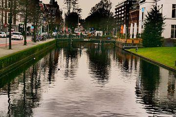 Den Haag - Donker brug van Wout van den Berg