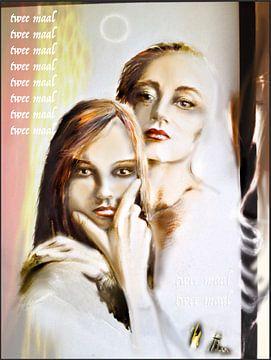 Twee vrouwen van pim veeger