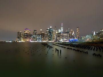 New York Skyline van Maikel Brands