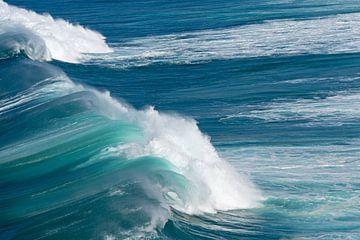 Blaue Welle von Barbara Brolsma