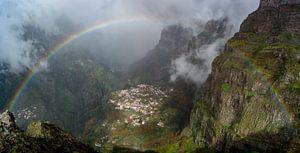 Regenboog in Madeira