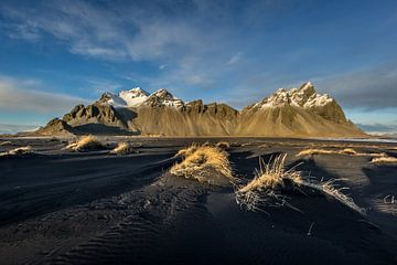 Berg landschap Ijsland van William Linders