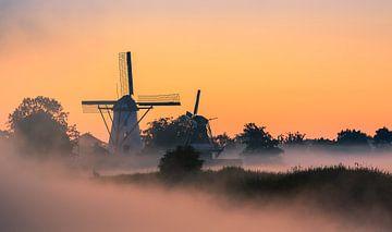 Sunrise Ten Boer - Netherlands sur Henk Meijer Photography