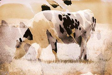 Weidende Kuh von Mario Dekker