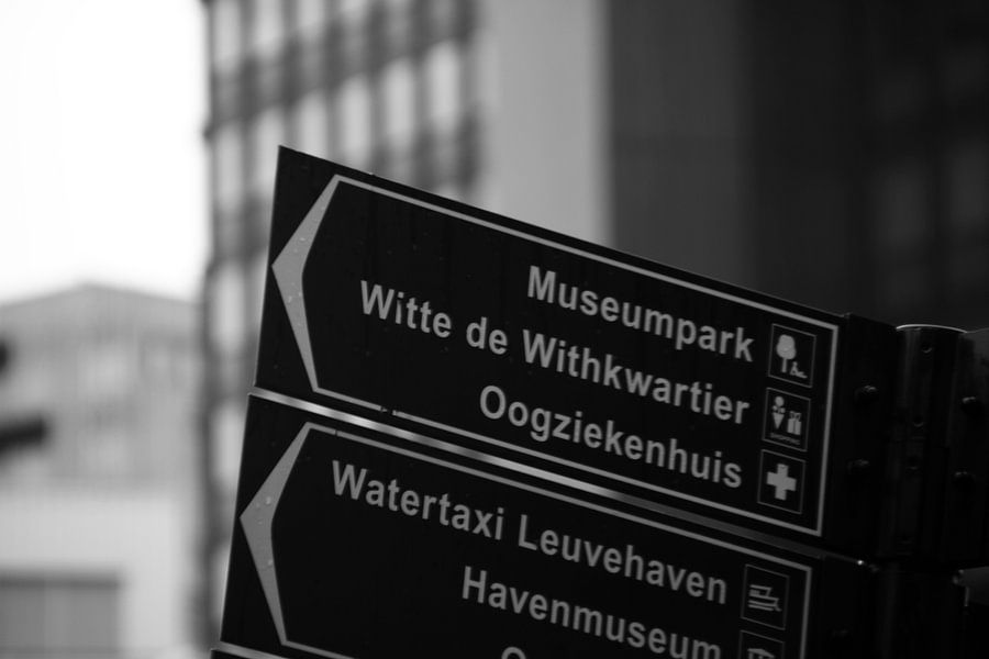 Rotterdam signpost