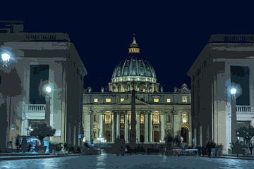 Sint Pieter Vaticaanstad van Peter Moerman