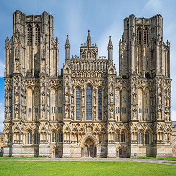 Kathedrale von Wells, Somerset, England von Henk Meijer Photography