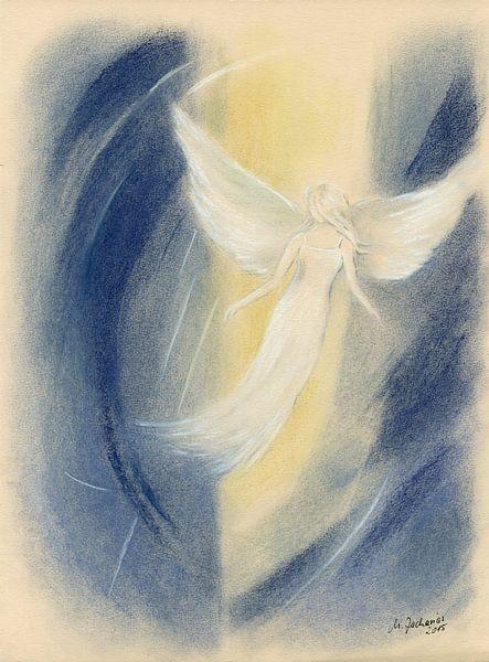 Lichtwezens - spirituele schilderij