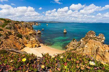 Praia do Camilo in Lagos an der Algarve von Werner Dieterich