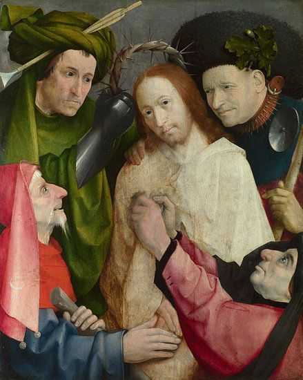 Hieronymus Bosch - Christus bespot van 1000 Schilderijen